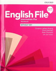 New English File 4th Edition Intermediate Plus Workbook without Key