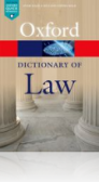 A Dictionary of Law, 8. vydanie