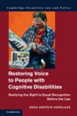 Restoring Voice to People with Cognitive Disabilities