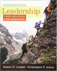 Leadership: Theory, Application and Skill Development