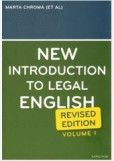 New Introduction to Legal English I.