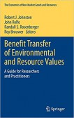 Benefit Transfer of Environmental and Resources Values