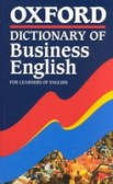 Oxford Learner´s Pocket Dictionary of Bussines English